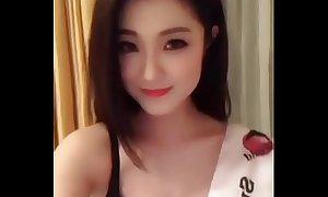 Beautiful chest chinese girl