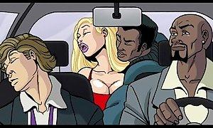 Interracial mock video