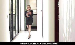Shewillcheat - slutty real estate agent bonks bbc