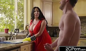 Chubby gaffer stepmom's cum surface-active agent - sybil stallone