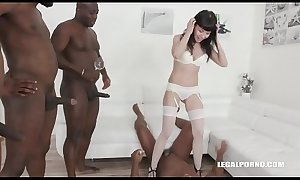 gangbang girl love piss from black guys