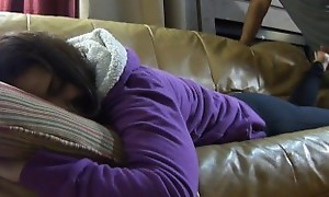 Sleepy Footjob/footworship