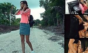 Helpless Teens - Eden Sin Roadside Whore Gets Wrecked