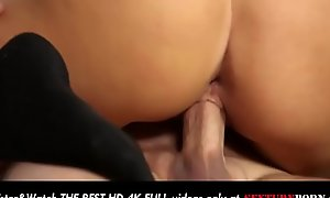 Horny Kenzie Taylor pussy hard fuck and cum in mouth and on face!