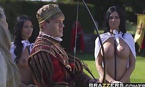 Brazzers.com - storm of kings xxx parody part anissa kateandjasmine jaeandryan r