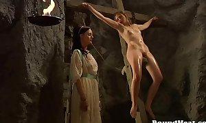 Lesbian slave castigation clip scene scene scene - slave tears of...