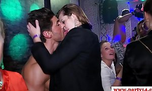 Real amateurs at euro party engulfing on penis