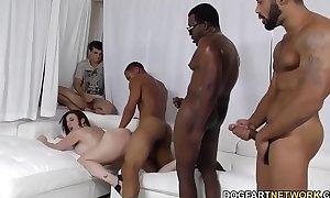 Slut sara jay team-fucked by dark weenies